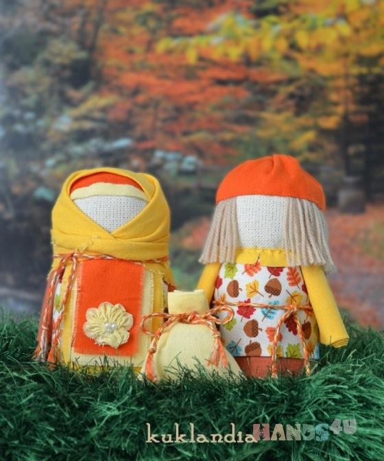 Купить Крупеничка и Богач, Народные куклы, Куклы и игрушки ручной работы. Мастер Виктория К (kuklandia) . хлопок