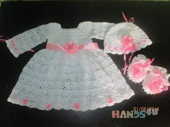 Купить комплект принцессе, Комплекты, Одежда для девочек, Работы для детей ручной работы. Мастер ирина морозова (irina511) . вязаный комплект