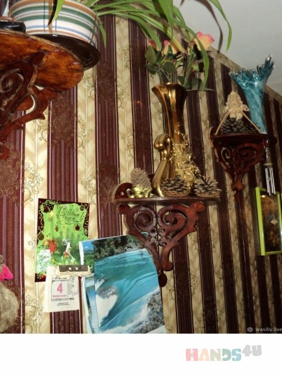 Купить Полочка для цветов, Подставки под цветы, Цветы и флористика ручной работы. Мастер Василий Василий (Vasiliy) . фанера 8 мм