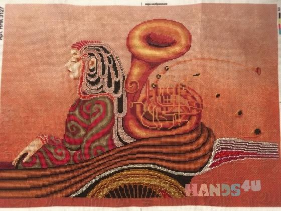 Купить Музыка чувств, Абстракция, Картины и панно ручной работы. Мастер Марина Журавлева (-Marina-) .