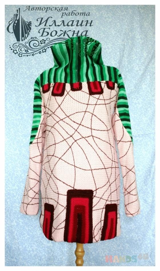 Купить куртка неоновый рассвет, Куртки, Верхняя одежда, Одежда ручной работы. Мастер Иллаин Божна (Illain) .