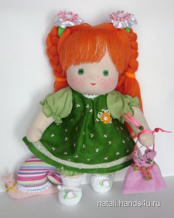 Купить Кукла вальдорфская Яночка с огромным гардеробом, Вальдорфская игрушка, Куклы и игрушки ручной работы. Мастер Наталия Морозова (Natali) . в подарок