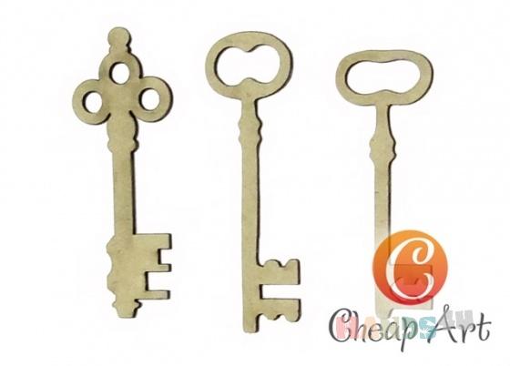 Купить Декоративный элемент Ключи Версаля (3 шт), Промышленные, Декоративные элементы, Декупаж и роспись ручной работы. Мастер   (cheap-art) .