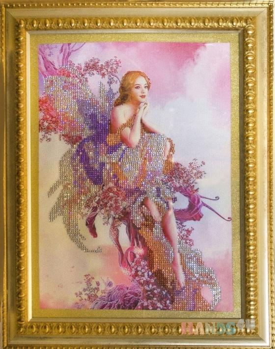Купить Ангел, Картины и панно ручной работы. Мастер   (marina598) . вышитая картина