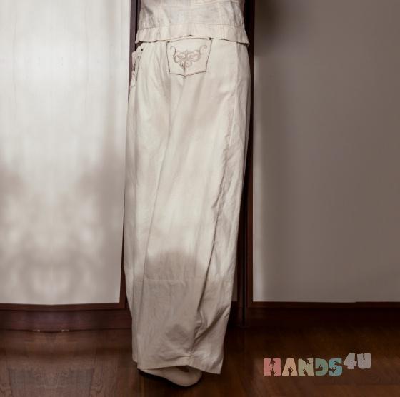 Купить Брюки makkoс , Брюки, Брюки, шорты, Одежда ручной работы. Мастер Ирина Теравская (DesignTIE) . летние брюки