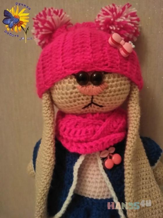Купить Зайка тильда на коньках, Зайцы, Зверята, Куклы и игрушки ручной работы. Мастер Юлия Юлия (Anya-Tanya) . наполнитель - холлофайбер