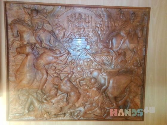 Купить Ангнец открывает книгу, Для дома и интерьера ручной работы. Мастер Вячеслав Есин (Slav) . картина в гостиную