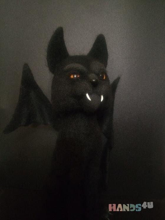 Купить Его Тёмное Величество - Кот, Коты, Зверята, Куклы и игрушки ручной работы. Мастер Наталья Ветрова (NataliToys) . валяный кот