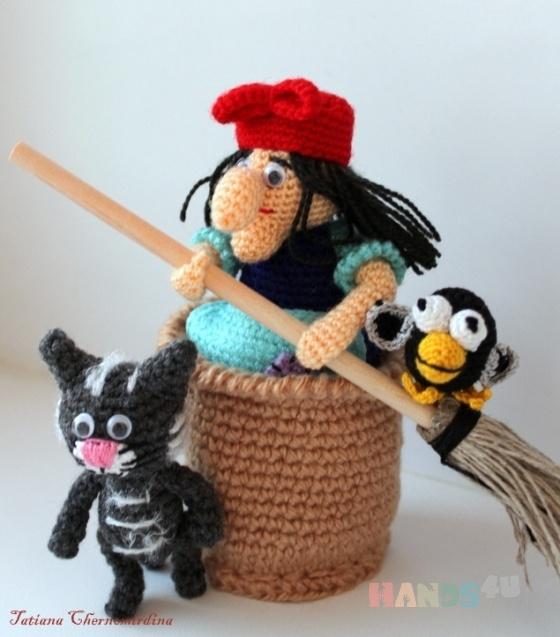 Купить Баба-яга, Русские сказки, Сказочные персонажи, Куклы и игрушки ручной работы. Мастер Татьяна Черномырдина (tayay) . акрил