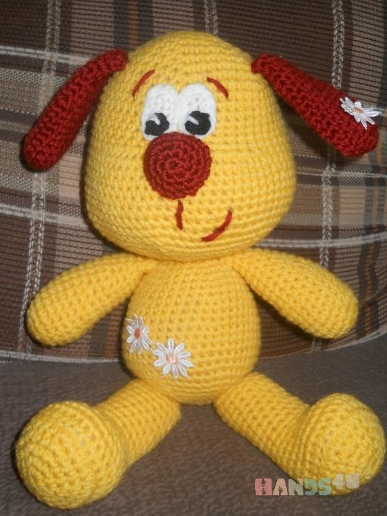 Купить Ромашка, Собаки, Зверята, Куклы и игрушки ручной работы. Мастер Тамара Молчанова (tamriko79) . символ 2018 года