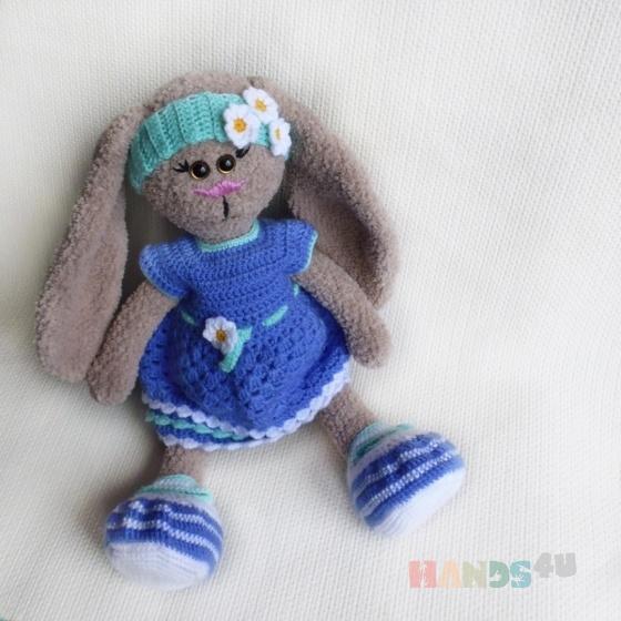 Купить Заяц в стиле Тильда, Зайцы, Зверята, Куклы и игрушки ручной работы. Мастер Елена Поладова (Pinchik) . зайка тильда