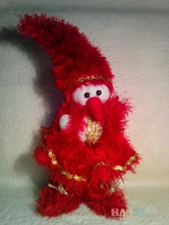 Купить Снеговик-девочка, Снеговики, Новый год, Подарки к праздникам ручной работы. Мастер Лана  (Sweetlana) . вязаная игрушка