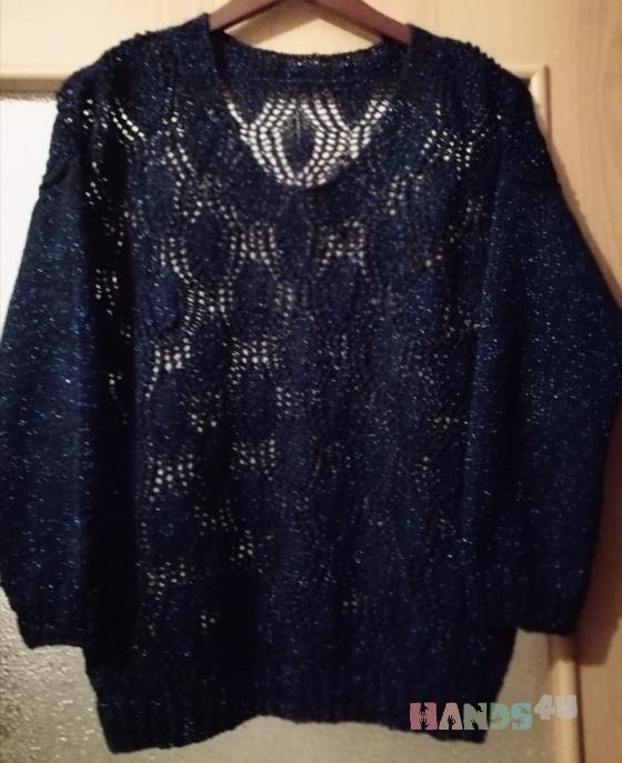 Купить Пуловер Ажурный, Пуловеры, Кофты и свитера, Одежда ручной работы. Мастер Swetlana Baraban (Yalana) . ажурный пуловер