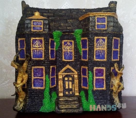 Купить Сувенирный домик, Статуэтки, Для дома и интерьера ручной работы. Мастер Мила Александрова (Milka333) .