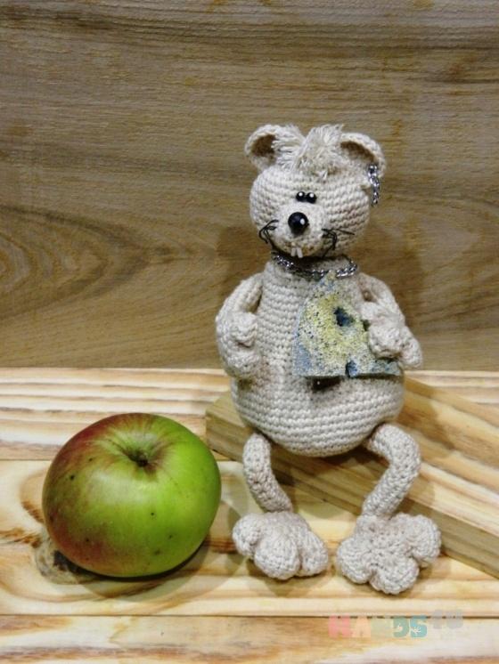 Купить Мышка - домовушка, Ароматизированные куклы, Куклы и игрушки ручной работы. Мастер Анастасия Лаптева (Nastasia17) . авторская игрушка