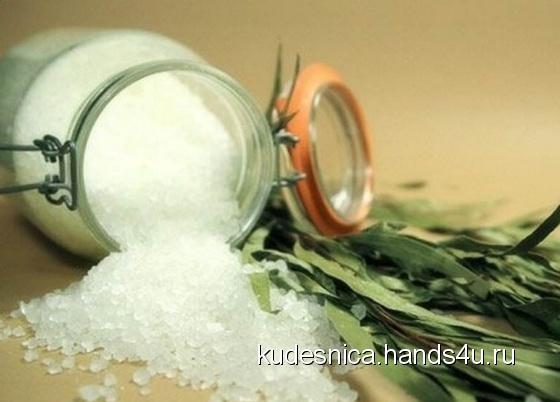 Купить Соляная смесь для ванной с водорослями, Соль для ванны, Косметика ручной работы. Мастер Tatyana Veselova (Kudesnica) .