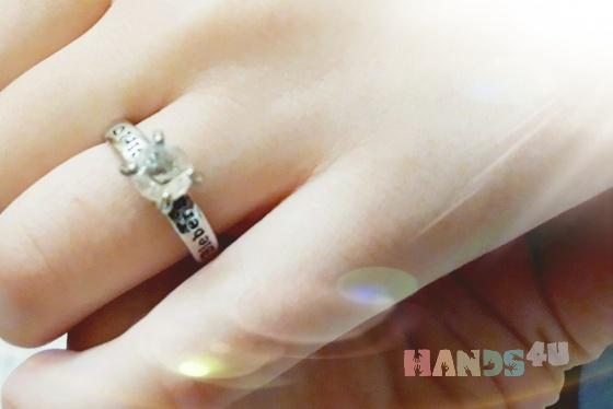 Купить серебренное кольцо, Украшения ручной работы. Мастер худашова айдана (ayka95) .