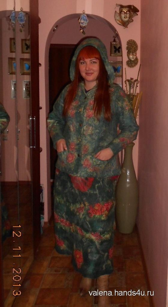 Купить Куртка женская теплая, Куртки, Верхняя одежда, Одежда ручной работы. Мастер Elena Ulevataya (VaLena) . австралийский меринос