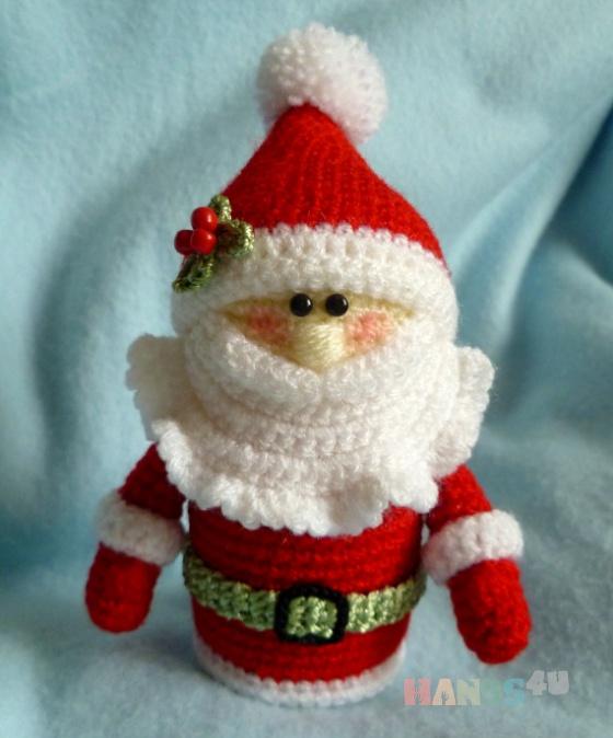 Купить Санта-Клаус, Сувениры и подарки ручной работы. Мастер Светлана Скляднева (HastaSiempre) . ручная вязка