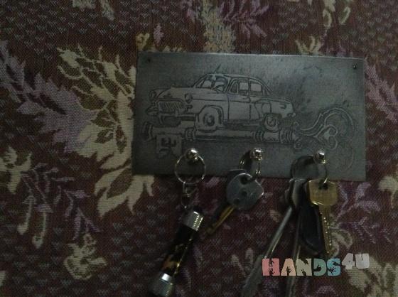 Купить Ключница на заказ, Элементы интерьера, Для дома и интерьера ручной работы. Мастер Геннадий Бох (Gennadiy) . ключница