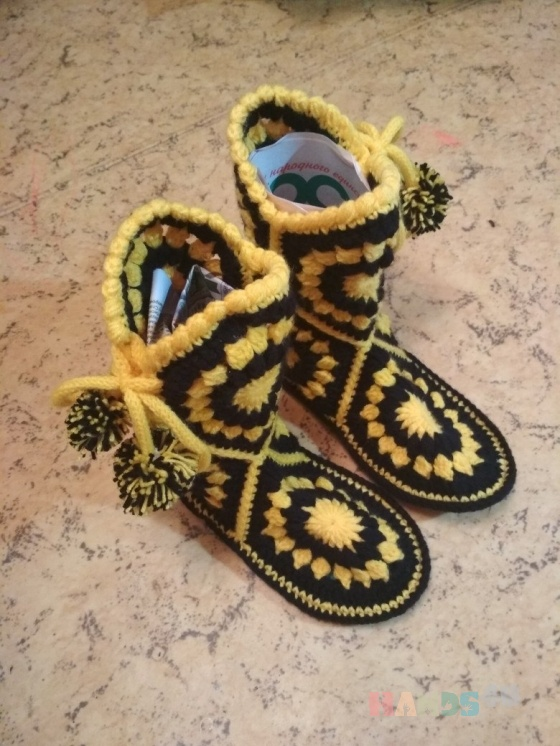 Купить Домашние сапожки угги, Обувь ручной работы. Мастер Александр Чук (Chuki) .