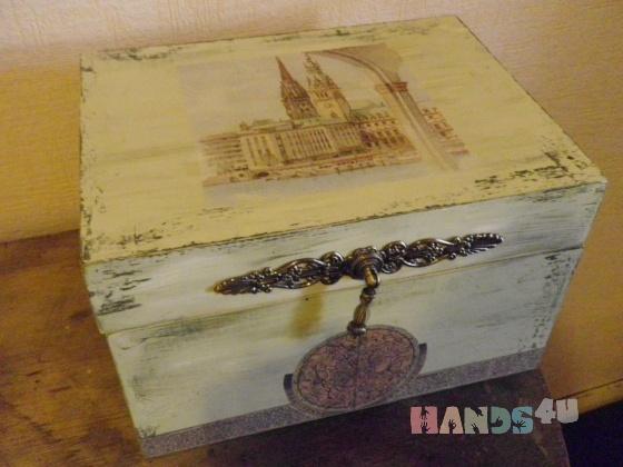 Купить Сундучок, Для дома и интерьера ручной работы. Мастер Лариса Аникина (Larisas) . дерево