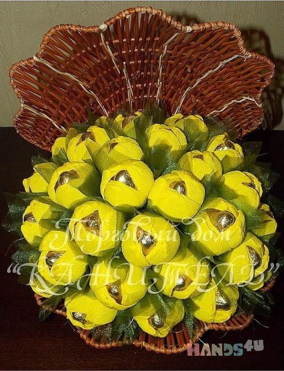 Купить Лохмотух, Букеты из конфет, Букеты, Цветы и флористика ручной работы. Мастер Екатерина  (Kanitell) . необычный подарок