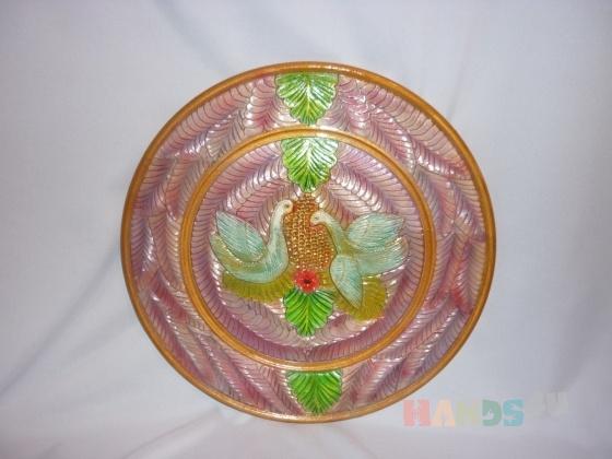 Купить тарелка, Для дома и интерьера ручной работы. Мастер елена михайлова (pioner) . дерево - липа