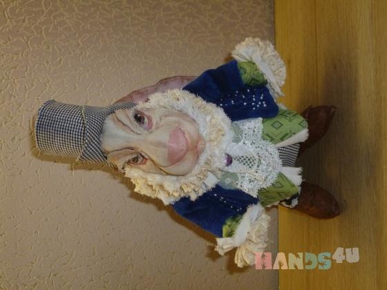 Купить Белый Кролик, Текстильные, Коллекционные куклы, Куклы и игрушки ручной работы. Мастер Елена Горячева (Goryacheva) . интерьерная игрушка
