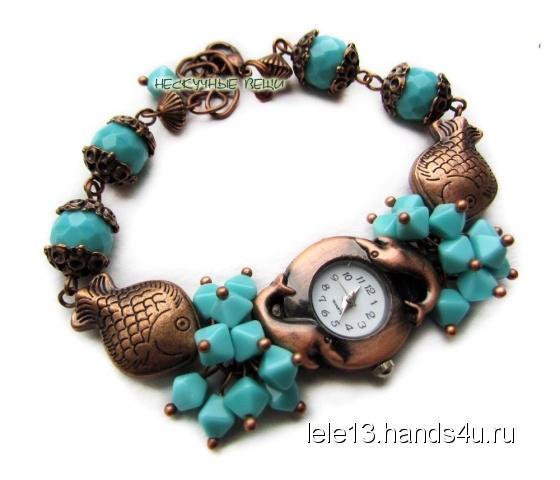 Купить Часы Морской сувенир, Часы, Украшения ручной работы. Мастер Нескучные вещи  (lele13) . часы