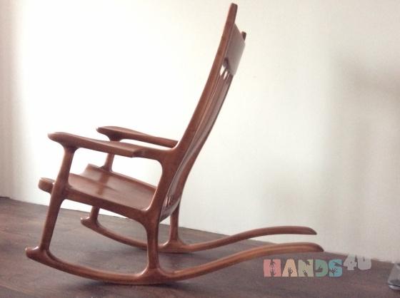 Купить Кресло- качалка, Кресла, Мебель, Для дома и интерьера ручной работы. Мастер Сергей  (Wood-S) . берёза либо на ваш выбор