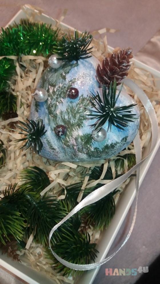 Купить Новогоднее настроение, Елочные украшения, Новый год, Подарки к праздникам ручной работы. Мастер Екатерина  (Katrina7) . пенопластовый шар