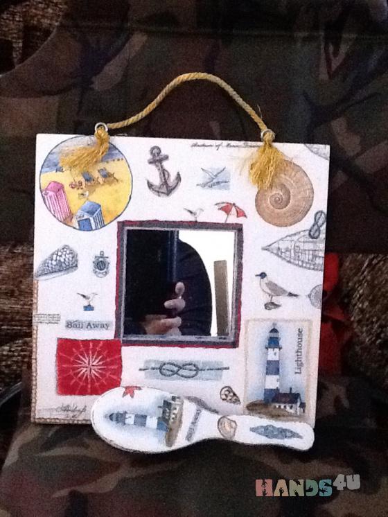 Купить набор морской круиз, Средние, Зеркала, Для дома и интерьера ручной работы. Мастер ольга харченко (OLGA-65) . авторская работа
