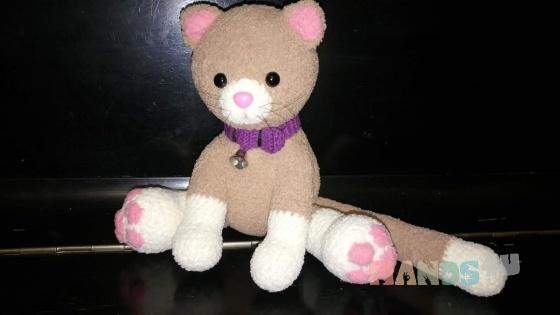 Купить котенок, Коты, Зверята, Куклы и игрушки ручной работы. Мастер елена  (mamaselina) . зефирка
