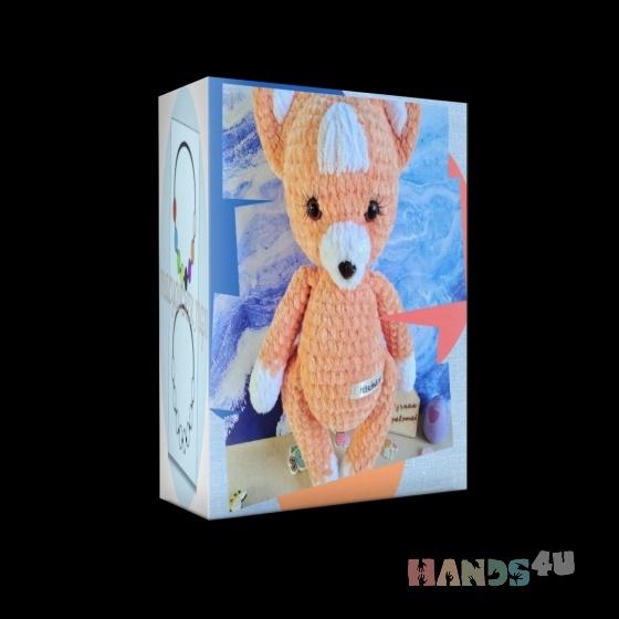 Купить Лисенок, Другие животные, Зверята, Куклы и игрушки ручной работы. Мастер Аня Филиппова (malyavchik-m) . лиса
