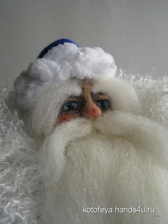 Купить Дед Мороз, Дед Мороз и Снегурочка, Новый год, Подарки к праздникам ручной работы. Мастер   (KotoFeya) . авторские игрушки