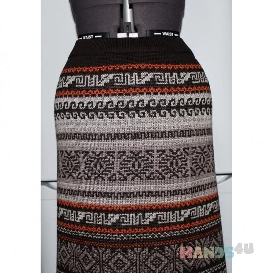 Купить Юбка-перуанка макси, Вязаные, Юбки, Одежда ручной работы. Мастер Наталья Тихонова (natati) . вязанная юбка