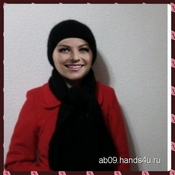 Купить Шапка с шарфом, Вязаные, Комплекты аксессуаров, Аксессуары ручной работы. Мастер Asya Bolatova (AB09) . шапка