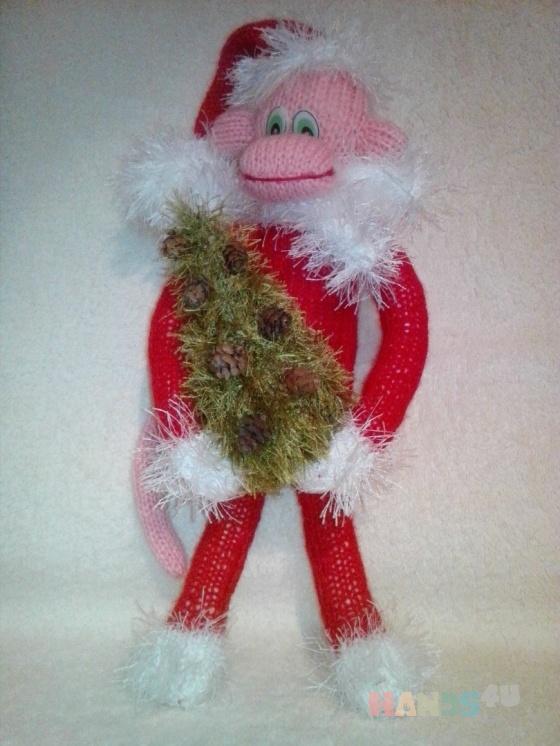 Купить Обезьяна, Новогодние елки, Новый год, Подарки к праздникам ручной работы. Мастер Лана  (Sweetlana) . символ года