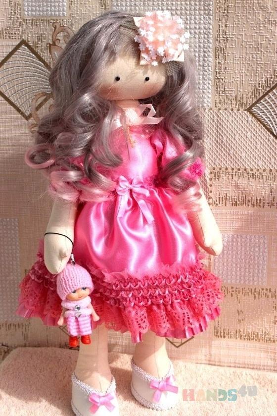 Купить Кукла ручной работы, Текстильные, Коллекционные куклы, Куклы и игрушки ручной работы. Мастер Елена  (Elenia) .