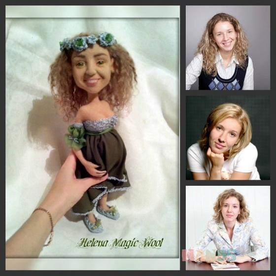 Купить Портретные куклы, Смешанная техника, Портретные куклы, Куклы и игрушки ручной работы. Мастер Елена Масур (ElenaMasyr) . портретная кукла