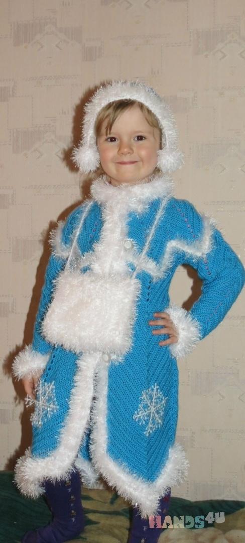 Купить Костюм  Снегурочка, Детские карнавальные костюмы, Работы для детей ручной работы. Мастер Татьяна Булаева (tatti42ru) .