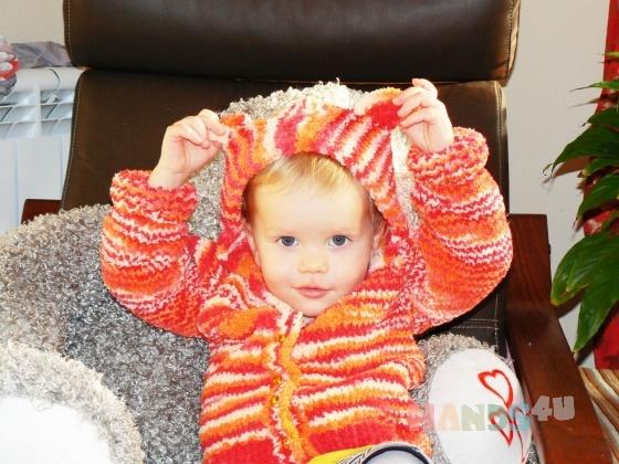 Купить Кофточка детская, Джемперы, Одежда унисекс, Работы для детей ручной работы. Мастер Юлия Матросова (matrosova) . детская одежда