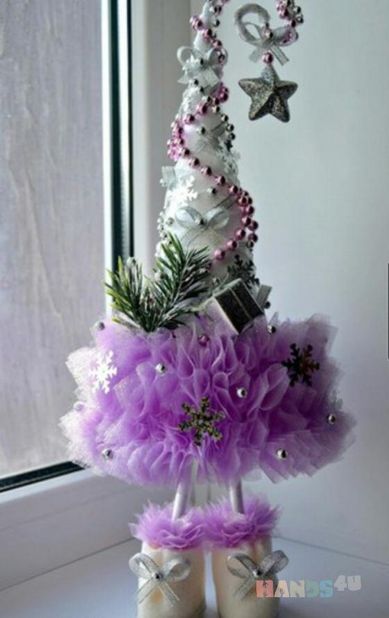 Купить елка-топтыжка декоративная, Персональные подарки, Подарки к праздникам ручной работы. Мастер miram  (miram) . авторское украшение