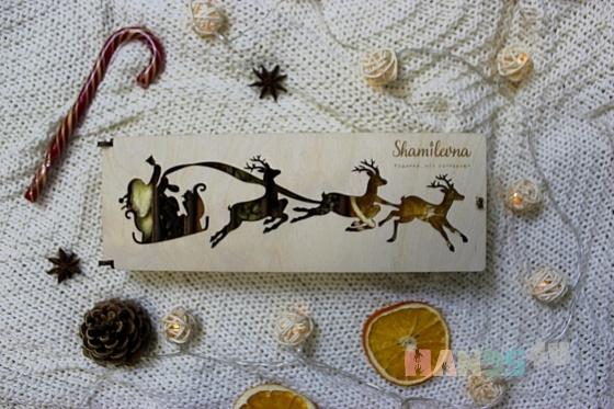 Купить Подарочный набор для глинтвейна - Новогодние Олени, Новогодние сувениры, Новый год, Подарки к праздникам ручной работы. Мастер Диана Муллагалиева (Shamilevna) .