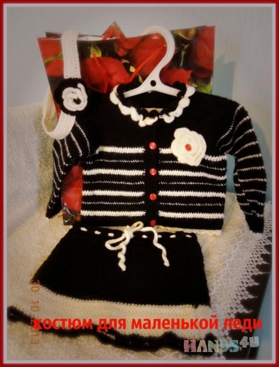 Купить Костюм для девочки, Комплекты, Одежда для девочек, Работы для детей ручной работы. Мастер Людмила  (Lyudmila) .