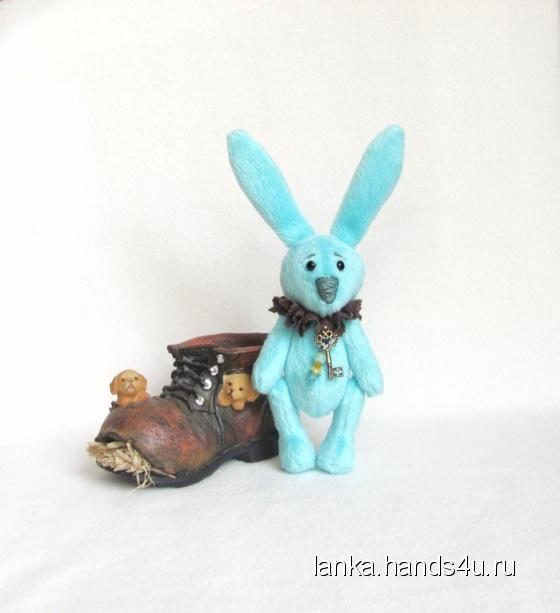 Купить зайчик Бузи, Друзья Тедди, Мишки Тедди, Куклы и игрушки ручной работы. Мастер Светлана Паршукова (Lanka) .