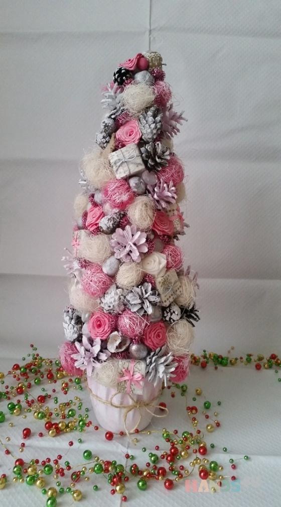 Купить декоративная елочка, Персональные подарки, Подарки к праздникам ручной работы. Мастер miram  (miram) . авторское украшение