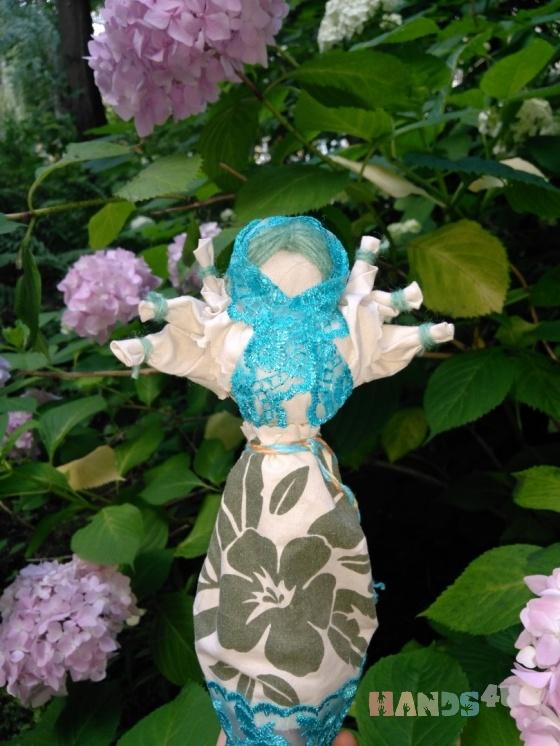 Купить Мокредина (кукла-оберег), Народные куклы, Куклы и игрушки ручной работы. Мастер Оксана  (Ksysha) . натуральные