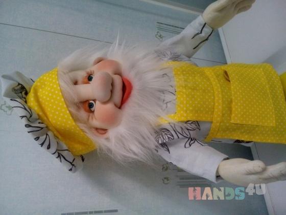 Купить Домовенок-поваренок, Мультяшные, Сказочные персонажи, Куклы и игрушки ручной работы. Мастер Надежда Юзжалина (yniya) .